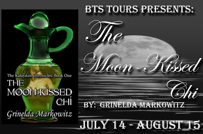 The Moon Kissed Chi book tour