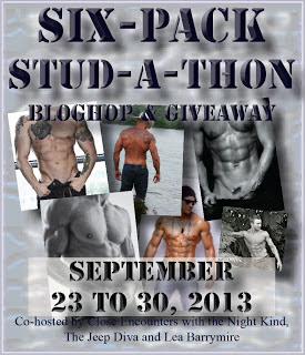 Six-Pack Stud-A-Thon Blog Hop and Giveaway!
