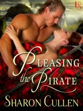 Spotlight:  Sharon Cullen – Pleasing the Pirate (on SALE!)