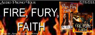 Fire, Fury, Faith, by N.D. Jones – A #ParanormalRomance
