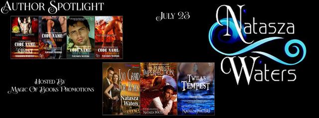 #Author Spotlight – #Bestselling #Author Natasza Waters  #NavySEAL  #militaryromance #romanticsuspense