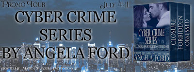 Angela Ford's Cyber Crime Series #romanticsuspense #romance