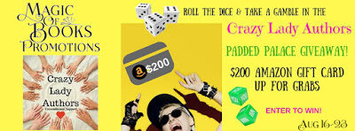 Crazy Lady Authors Padded Palace #Giveaway!