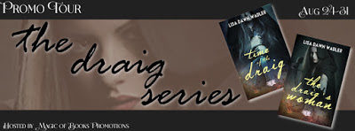 #TimeTravelRomance  The Draig Series by Lisa Dawn Wadler