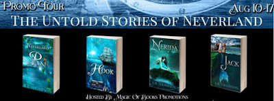 Promo Tour of The Untold Stories of Neverland #AdultFairytales
