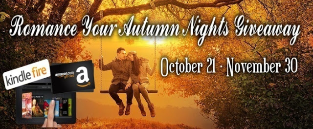 Win a #Kindle in #Romance Your Autumn Nights  #Giveaway