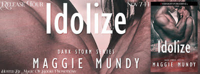 Idolize by Maggie Mundy  #ContemporaryRomance #EroticRomance #Suspense