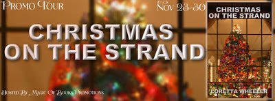#ParanormalRomance Promo Tour: Christmas on the Strand by Loretta Wheeler