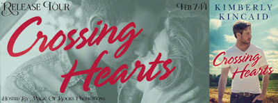 Crossing Hearts by Kimberly Kincaid #contemporaryromance