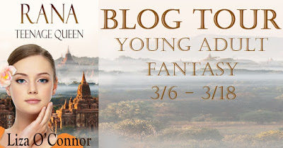 Rana: Teenage Queen  #YANovel  by Liza O'Connor